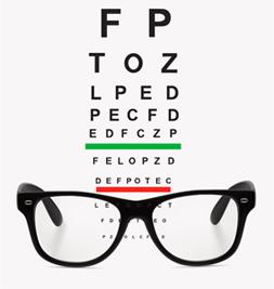 Letter Chart & Glasses